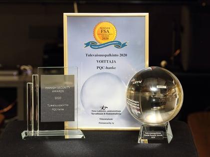 FSA-palkinto PQC-hankkeelle