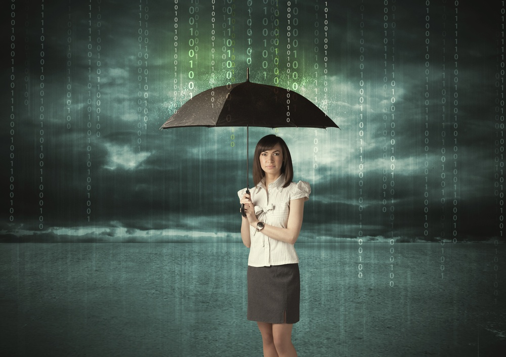 Business woman standing with umbrella data protection concept on background.jpeg